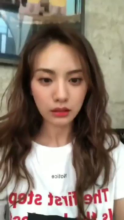 [Update Chara] : Nana using filters for the first time in her life 😂