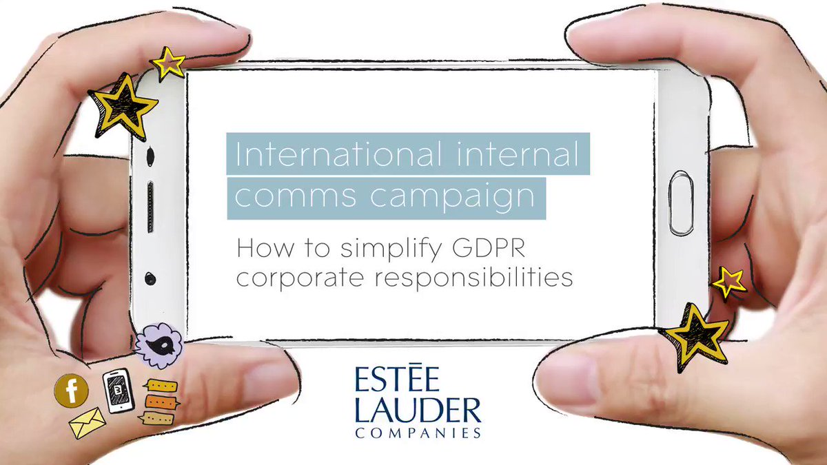 GDPR is fast approaching. Check out how we helped Estee Lauder Companies with Global internal comms and employee engagement https://t.co/Ggh9YY8vdy