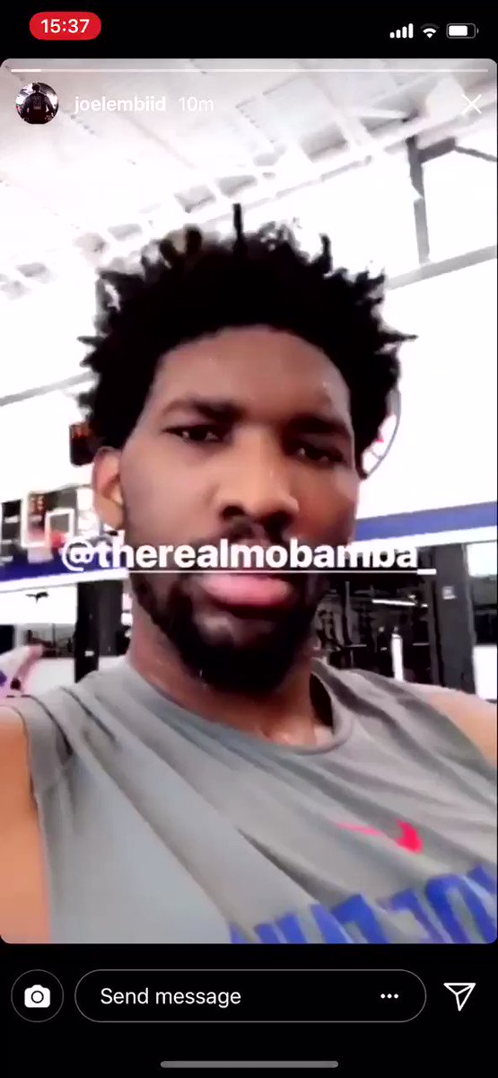EMBIID LOOKS HEALTHY AND HAPPY