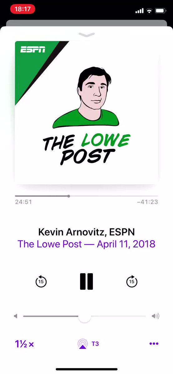 Zach Lowe wanted to put Covington as 1st team all defense guard but the NBA wouldn't let him