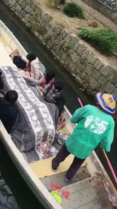 海外で注目を集めていた柳川市の川下り
