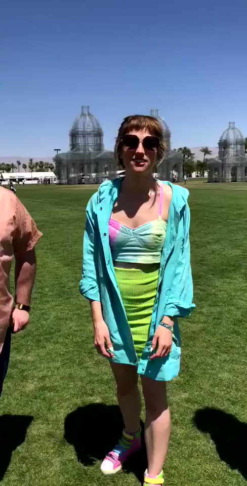 .@PRIESTS_TWEET are taking over our Snapchat right now! Follow along  �� @coachella https://t.co/JPachfuaFB