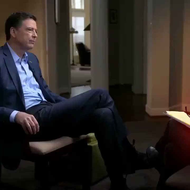 TONIGHT: Former FBI Director James Comey sits down with @GStephanopoulos for his first interview since being fired by President Trump. Watch the ABC News exclusive event at a special time, 10/9c on ABC. abcn.ws/2H030L9 #Comey