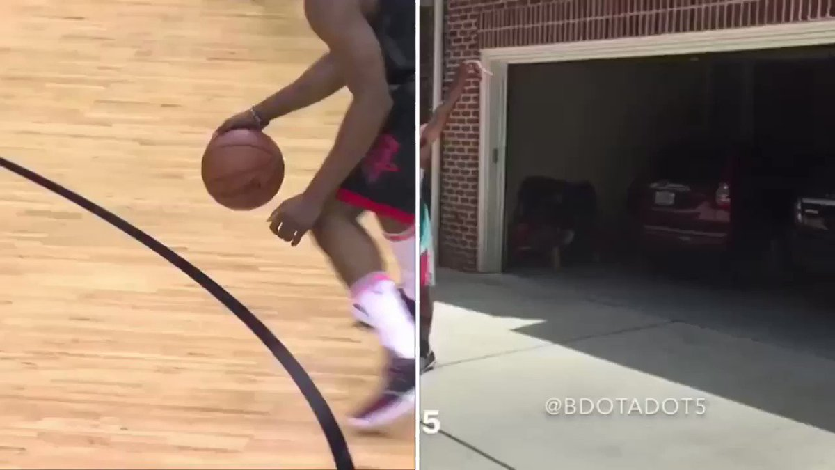 😂 James Harden doing an impersonation of @BdotAdot5 doing an impersonation of James Harden!