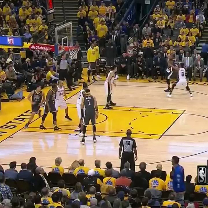 Steph knew it was in �� https://t.co/7WBToGbEvI