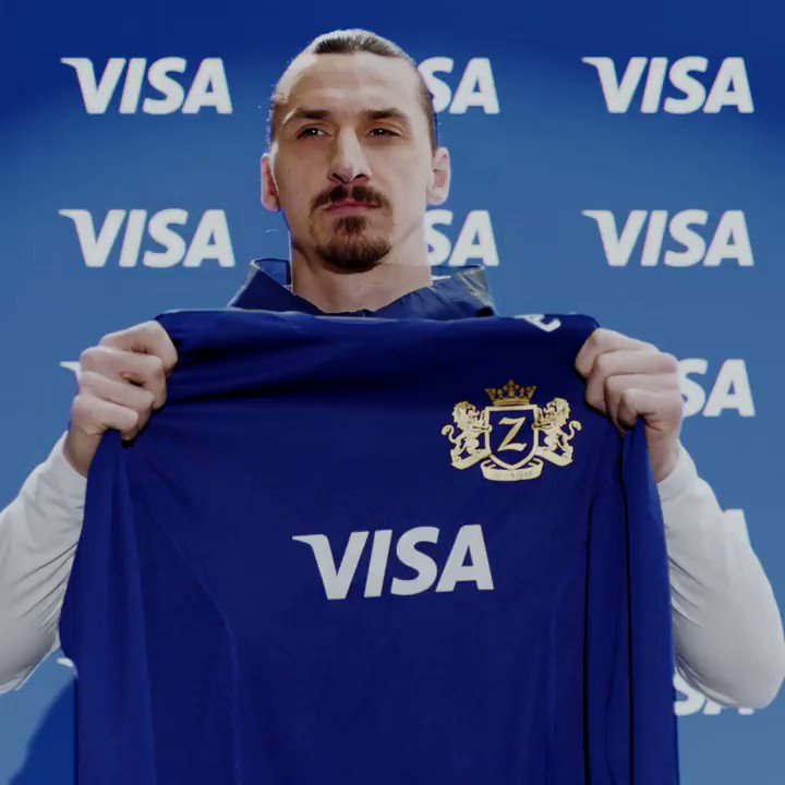 .@Ibra_official ViZa looks good on you. Welcome to the @VisaCA family. #sponsored