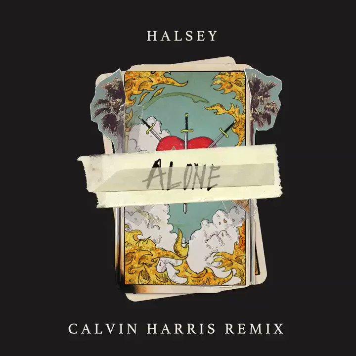 My remix of @halsey Alone w/ @stefflondo...