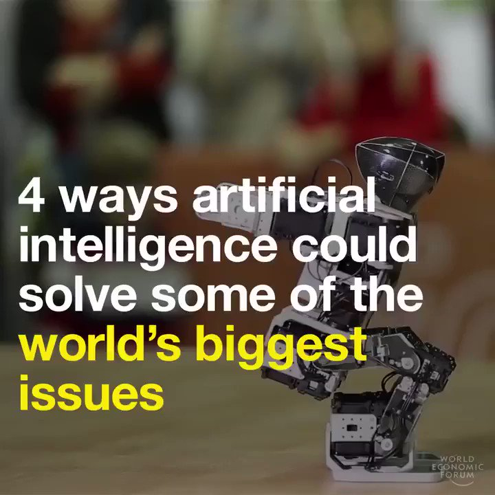 Image for the Tweet beginning: 4 ways #ArtificialIntelligence is approaching