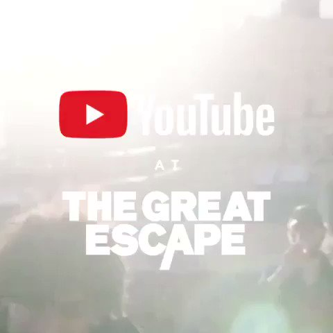 2nd @thegreatescape show announced with @YouTube ! Hope to see you there.