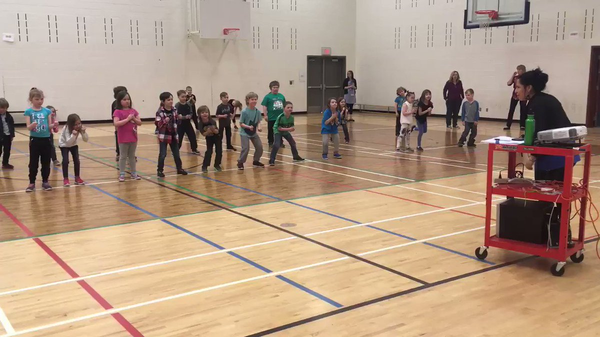 We worked so hard on learning our dance! Thank you @SoundKreations!