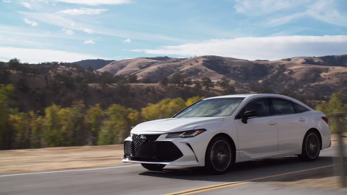 When innovative design and expert engineering come together, we achieve something extraordinary. Discover the all-new 2019 #Avalon… toyota.us/2HLkk3A