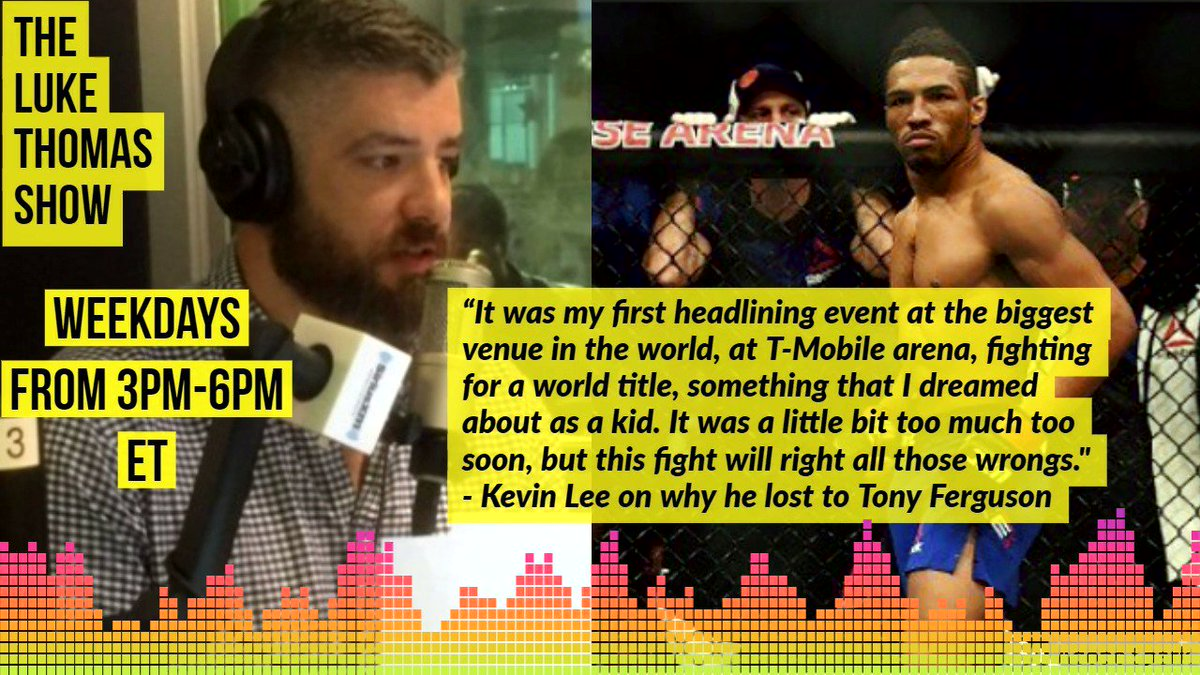 Why did @MoTownPhenom lose to Tony Ferguson? Heres Lees answer:  #TLTS  @lthomasnews
