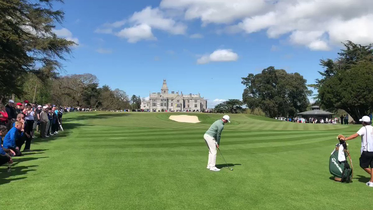 Such a pleasure to play @TheAdareManor today. The golf course is parkland perfection. The exhibition match finished level with the real winner being the stunning venue. Roll on #JPProAm2020 ⛳️
