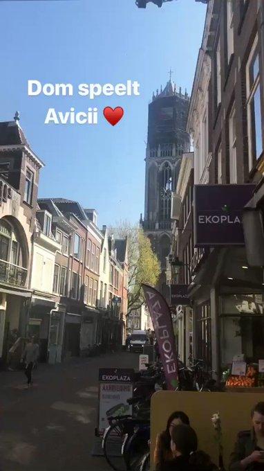 Tres canciones de Avicii, tocadas con campanas en la catedral de Utrecht