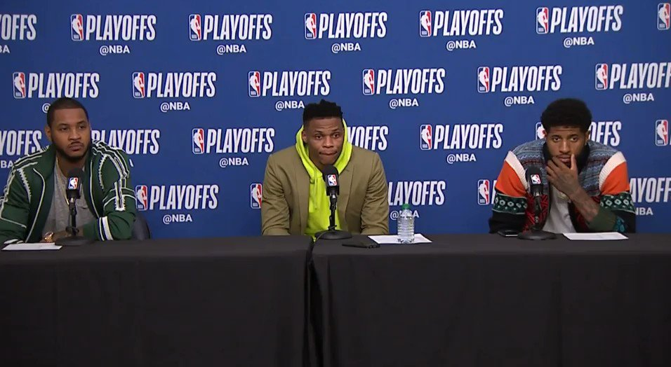 Russell Westbrook on Ricky Rubio's perfo...