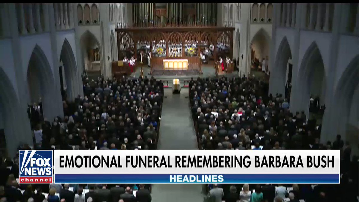 Former first lady Barbara Bush laid to rest in Houston https://t.co/vlc1S2HDaa https://t.co/7IQ28deATF
