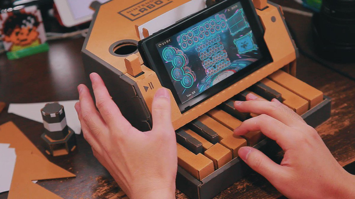 Nintendo Switch's Labo Is Already Being Used For Some Cool Stuff