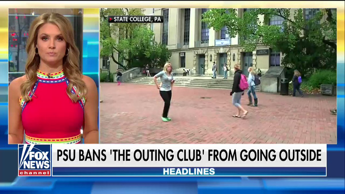 .@penn_state Bans 'The Outing Club' from Going Outside https://t.co/DcjjMTqu5M