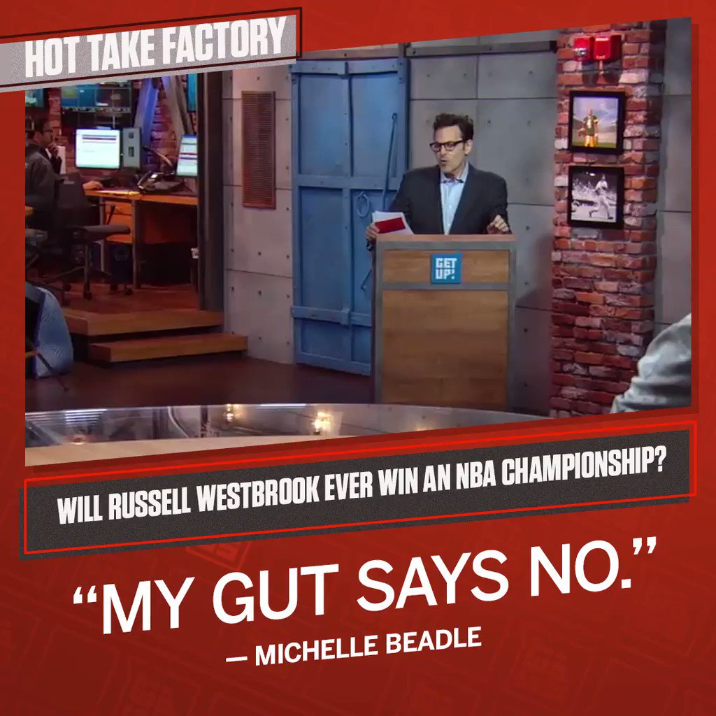 This was a tough one for @MichelleDBeadle.