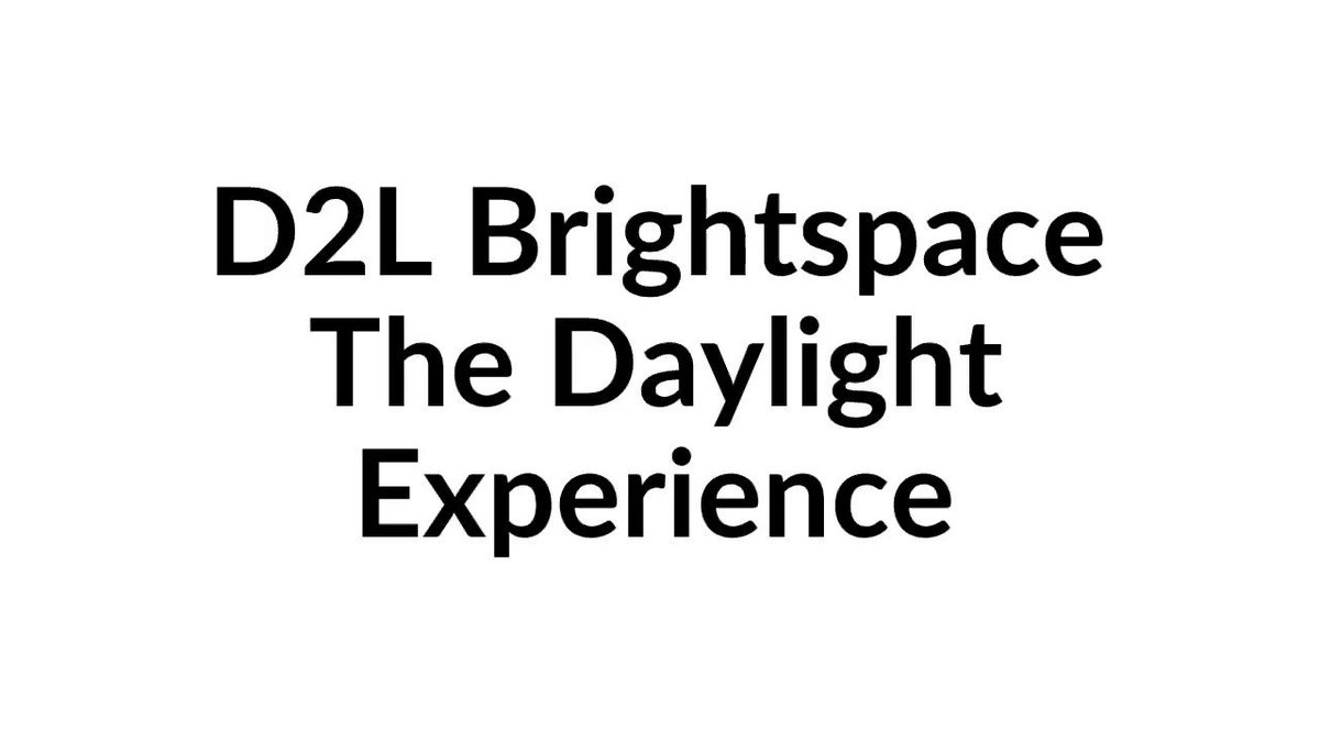 Kennesaw State Uits On Twitter D2l Brightspace They Daylight