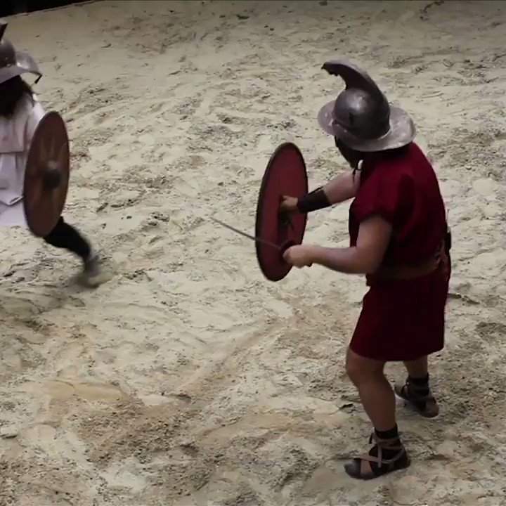 Try your hand at gladiatorial combat and be transported back to ancient #Rome... https://t.co/QGCWIONSZw