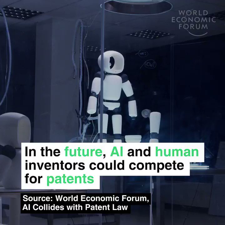 If an AI invents something, who owns the...