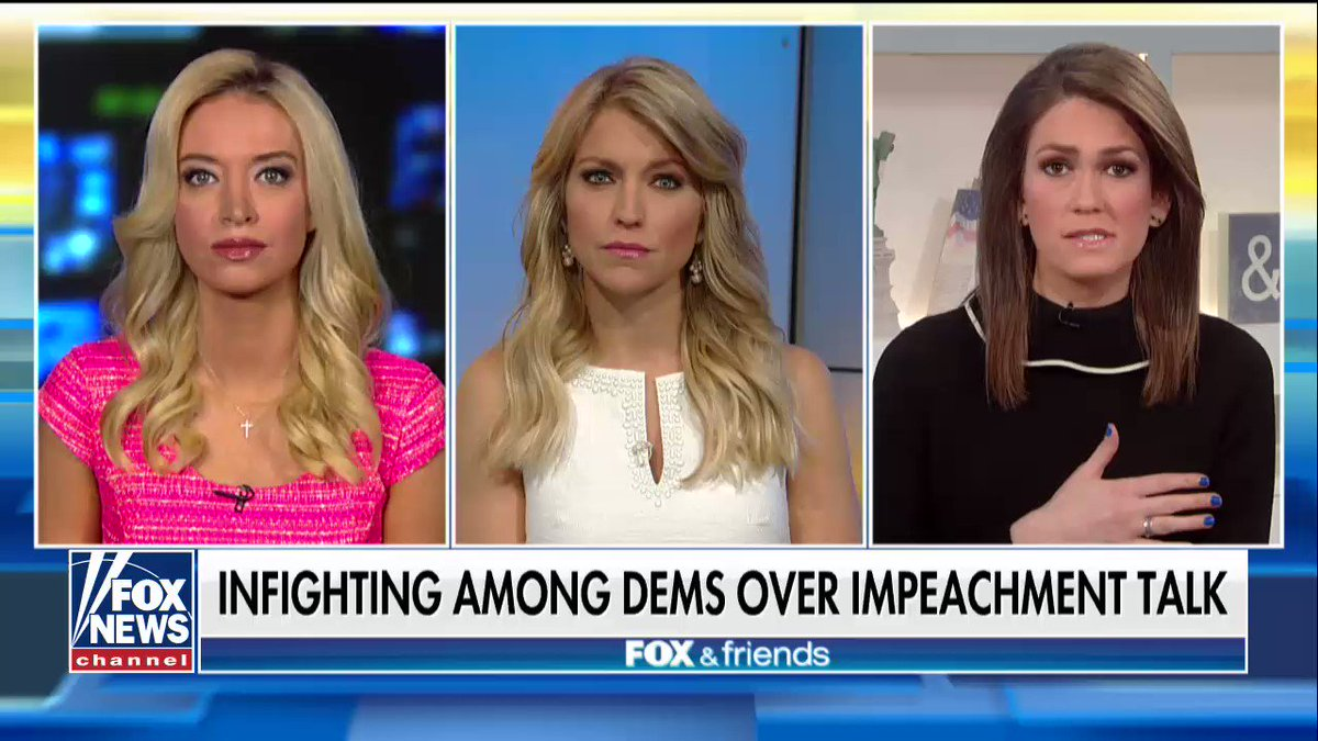 ".@JessicaTarlov: ""Go for the economy and healthcare, not Trump impeachment."" https://t.co/ZYC1Nc13uH"