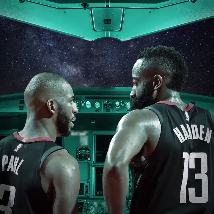 Punch it!  The Rockets blast off to Round 2. https://t.co/l9GNySVTmj
