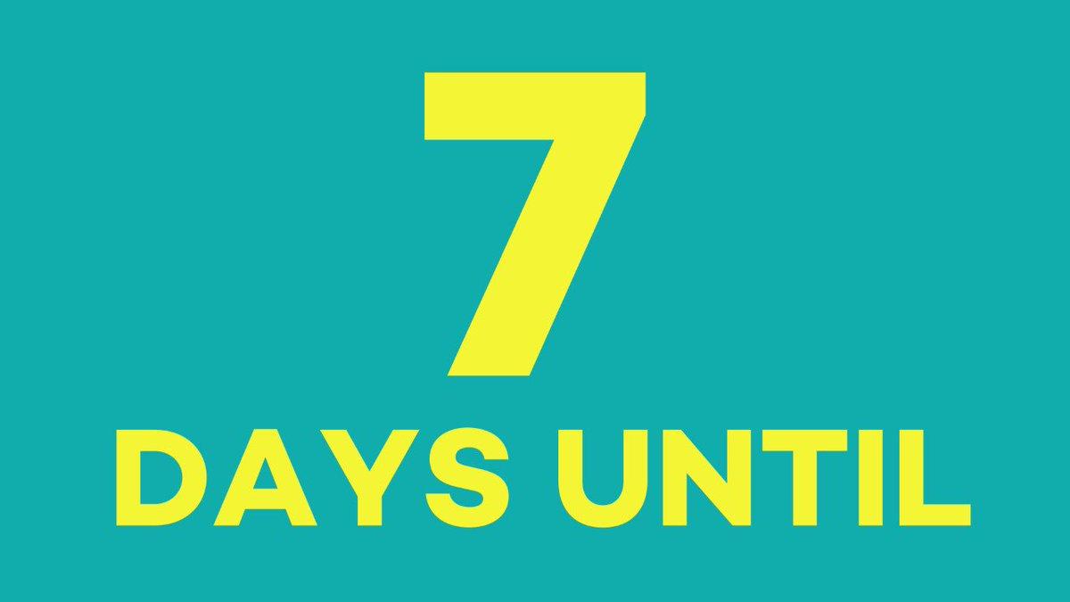 Image for the Tweet beginning: #BDOG2018 IS ONE WEEK AWAY.