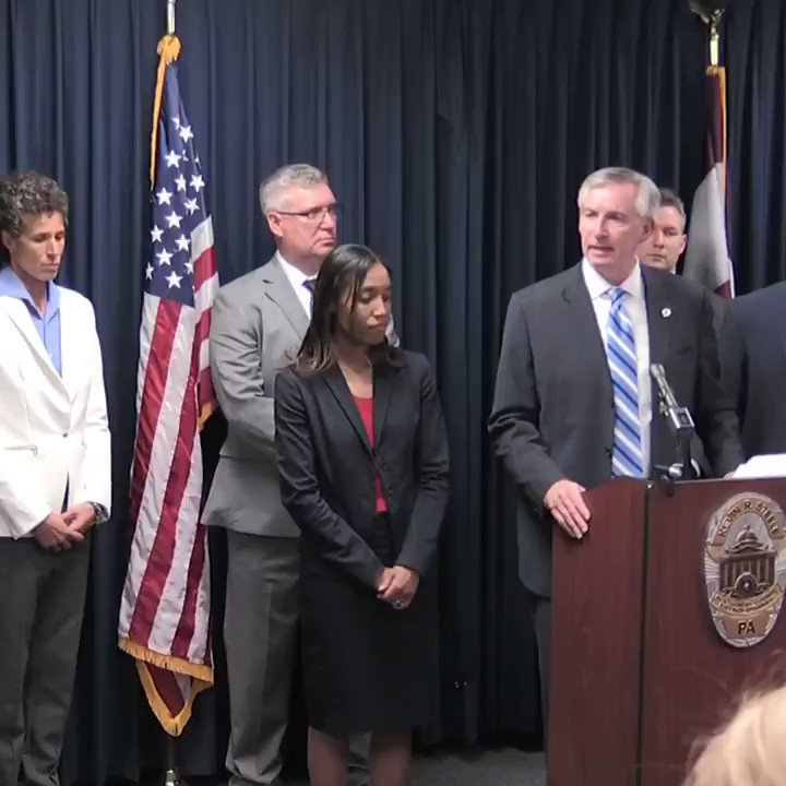 Image for the Tweet beginning: WATCH: Montgomery County District Attorney