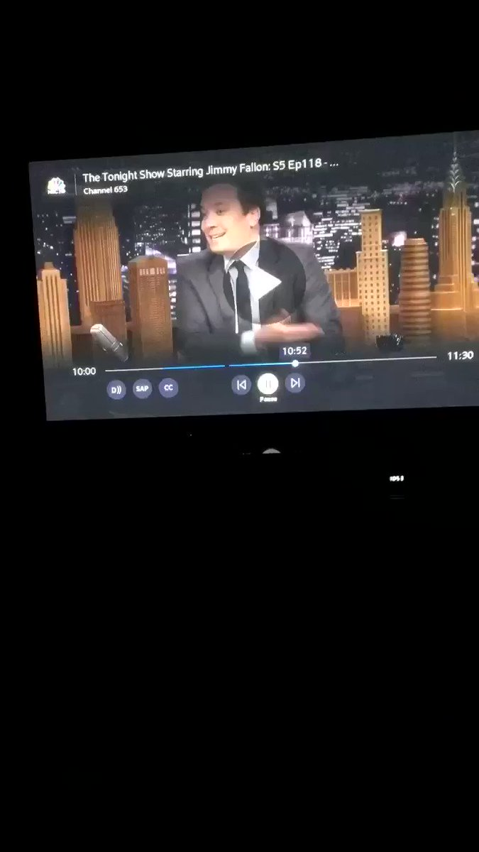 So does @jthiskey realize he was just barely on the Tonight Show with Jimmy Fallon