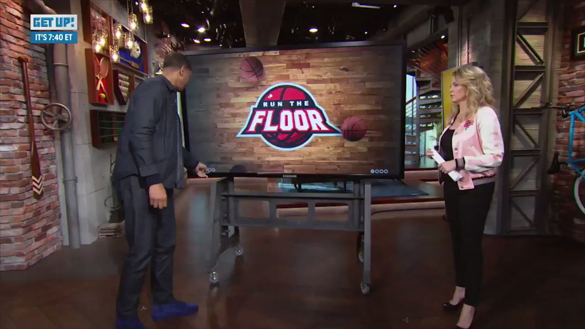 Run the Floor: @JalenRose breaks down how the Celtics pulled off a win in Game 1 against the Sixers.