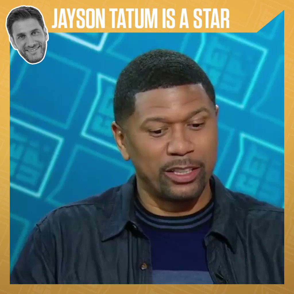 Jayson Tatum is ballin'. @JalenRose and @Espngreeny are impressed.