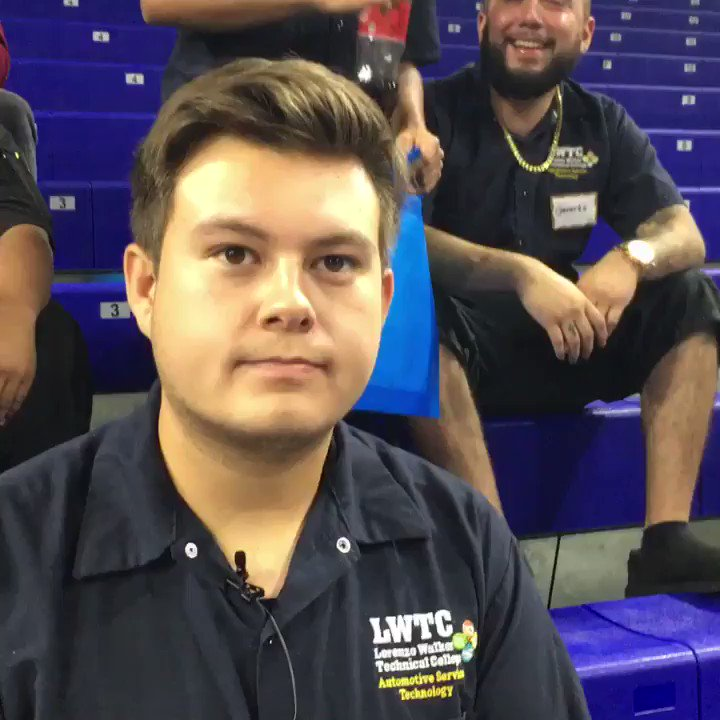 Lorenzo student Nico looks for a job at CareerSource Southwest Florida's recent Regional Career Fair!  (40-sec. video interview):