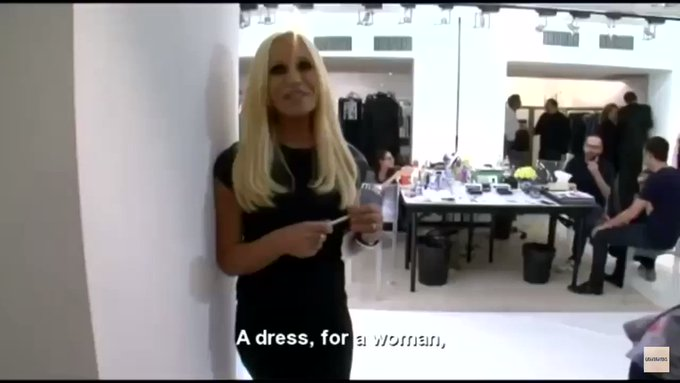 Happy Birthday to the most iconic Donatella Versace