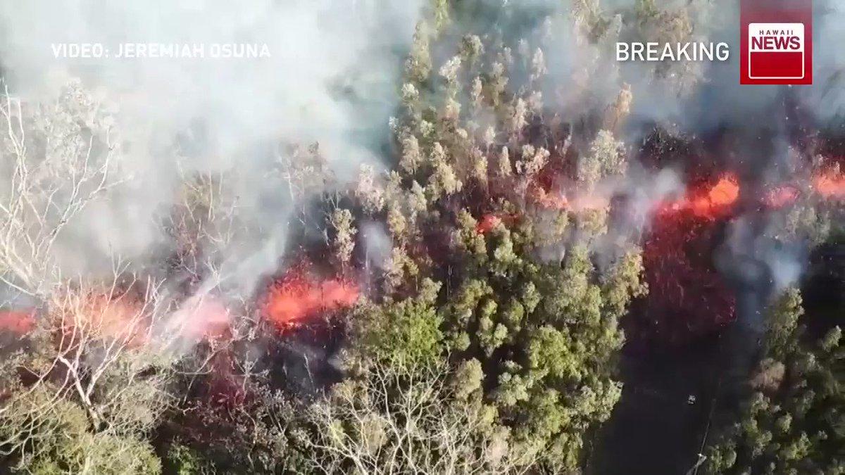 Συναγερμός στη Χαβάη μετά την έκρηξη ηφαιστείου