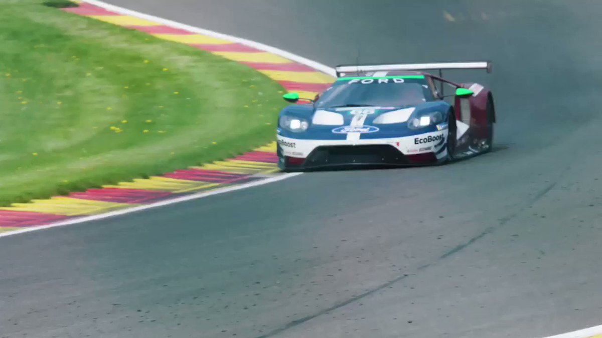 YEAH!! 👊 A Ford 1-2 in qualifying for @FIAWEC #6hspa