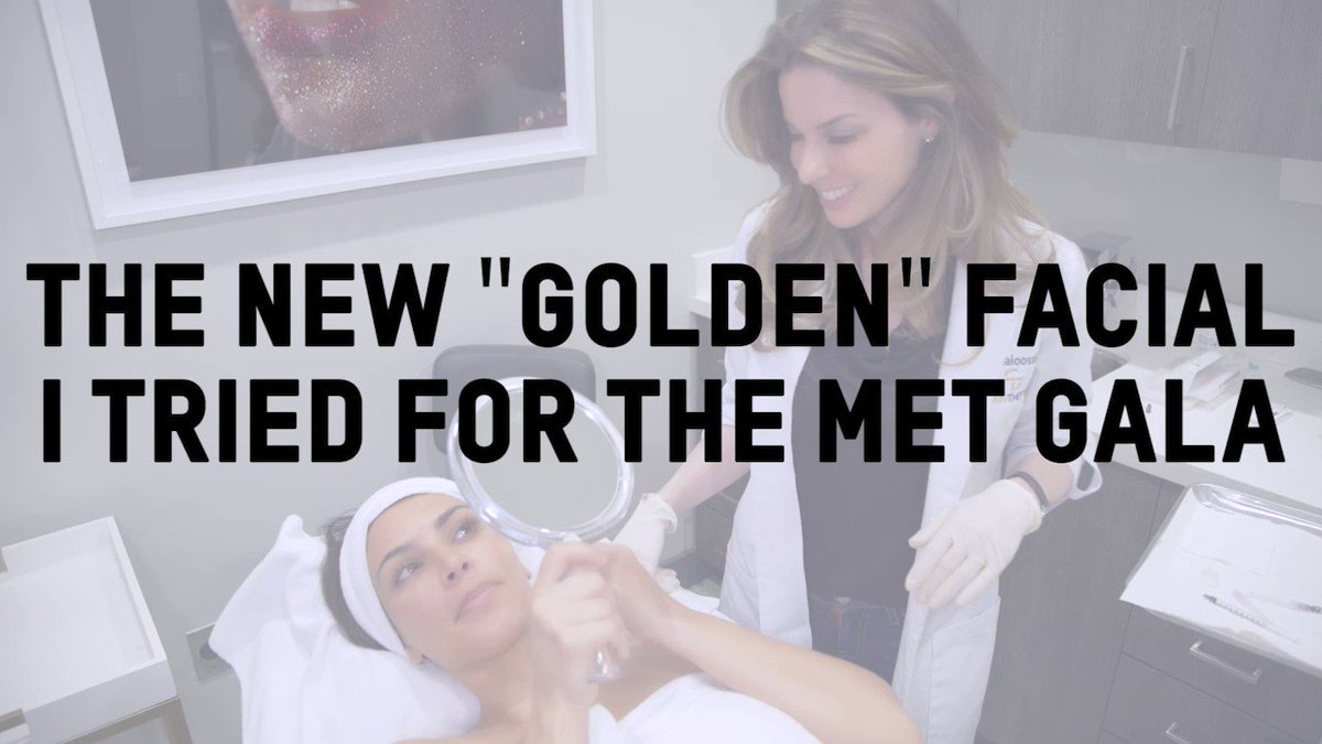 The new Golden Cocktail Facial I tried for the Met Gala: https://t.co/t827ymlwSK https://t.co/ByB4e0ux8L