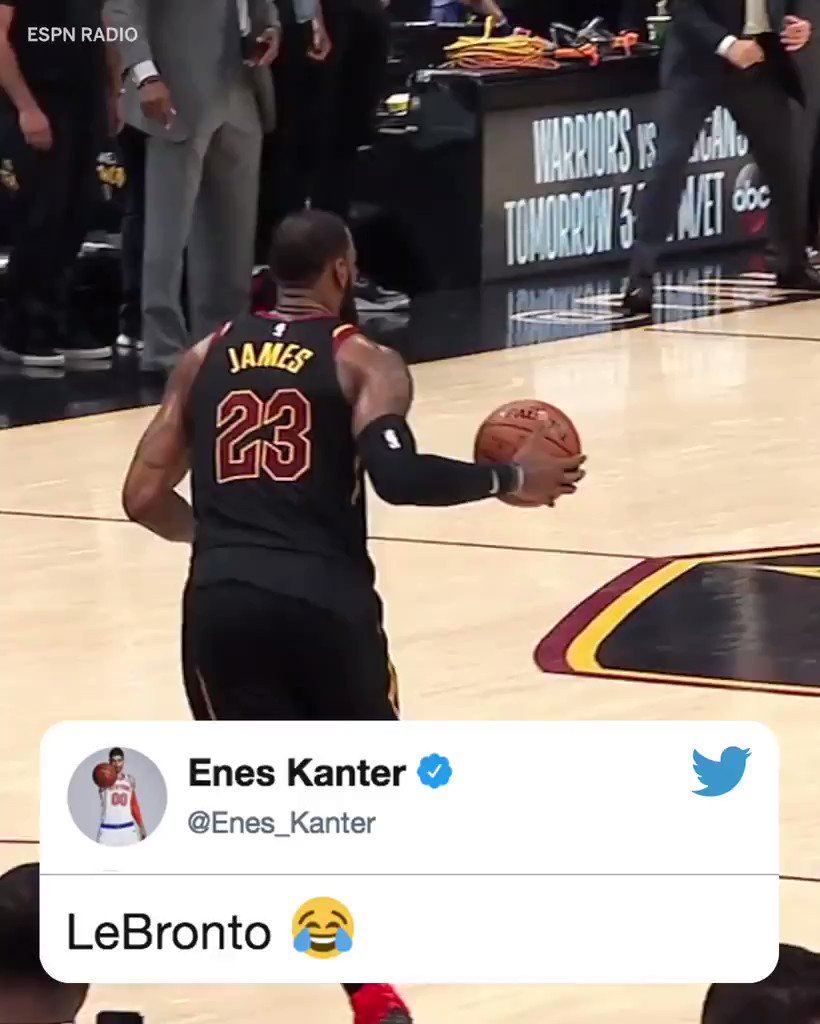 The NBA world was in awe of @KingJames buzzer-beater.