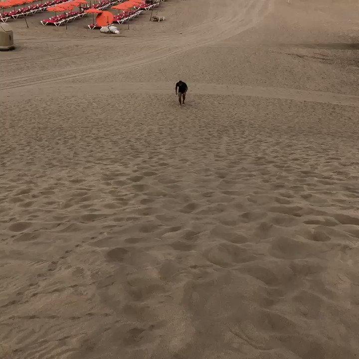 Cuestas en la playa 😅😅😅👌🏼