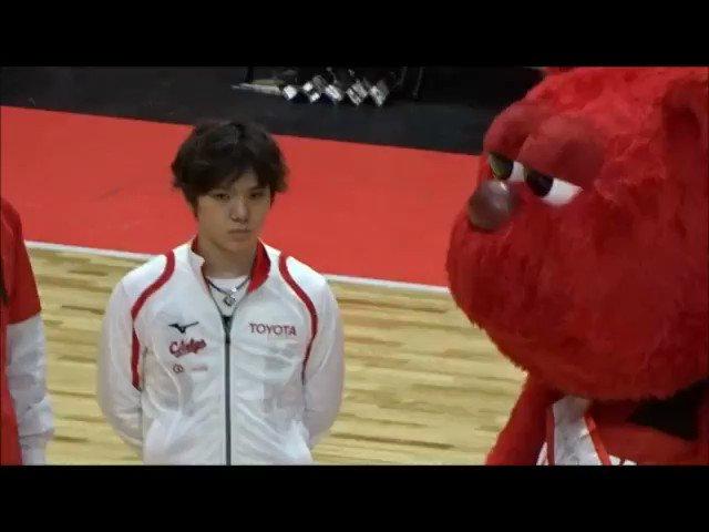 世界に宇野昌磨選手とルークの可愛いさよ広まれ