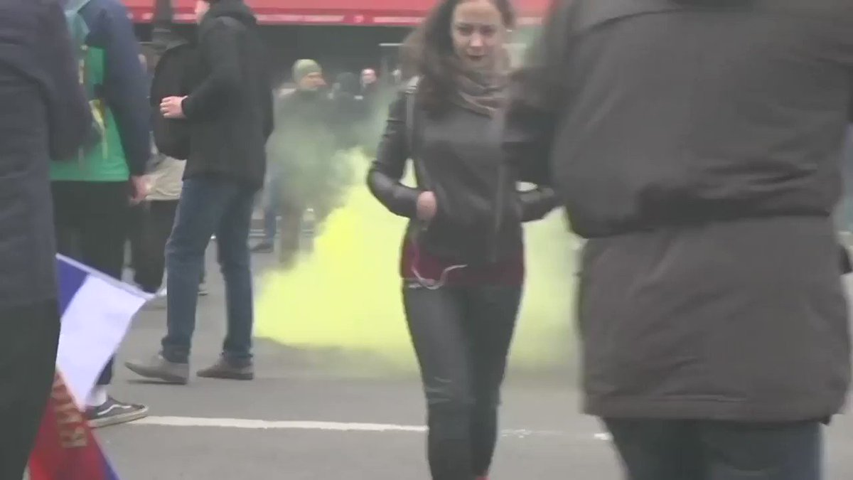 Погромы во время несанкционированных митингов 5 мая в Санкт-Петербурге