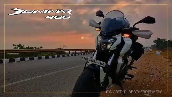 The Dominar400 tackles dramatic terrain with an untameable flair. Share your journeys with us and get featured. #MoodsOfDominar. Pic Credit: @brotherofbikers https://t.co/XdGecVwGtd