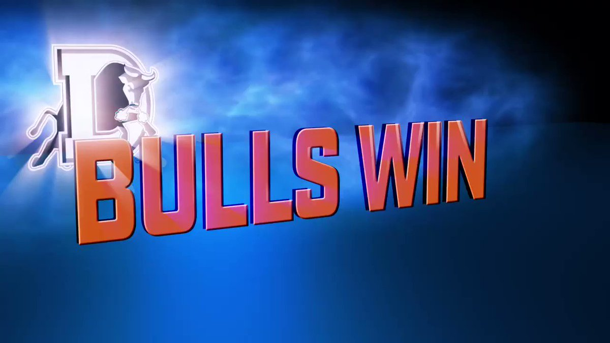 BULL CITY VICTORY! The Bulls take down the Tides 5-2 to vault back in to first place! #BULLieve https://t.co/u0Si9k710I