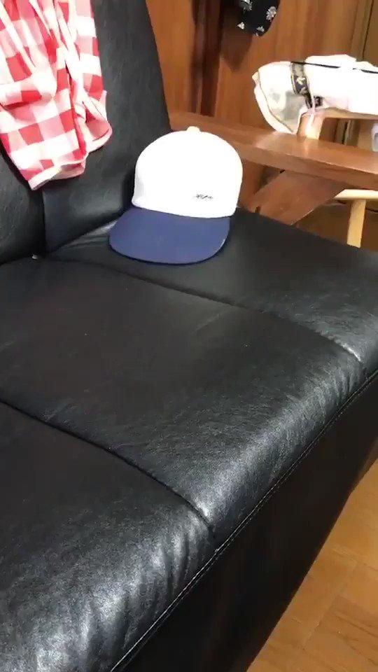 おじいちゃんから,なぜか帽子の動画がLINEで送られて来て,何だろう?と思って再生して見たら,めちゃくちゃほっこりする動画だった.
