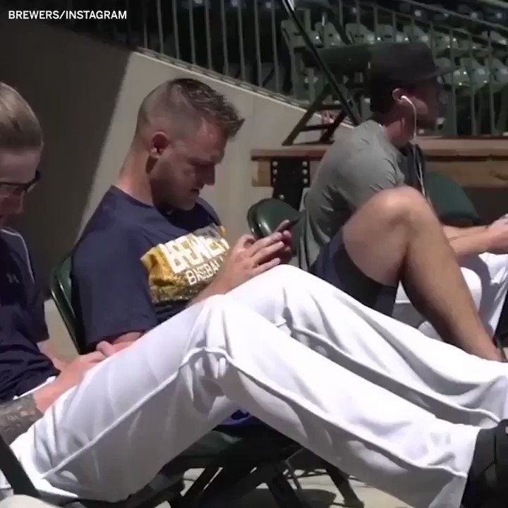 The Brewers taking advantage of every resource �� https://t.co/UsZ67ACaEn