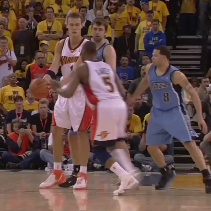 On This Date: Baron Davis shut down Oracle Arena. https://t.co/2fvnRrhtYK