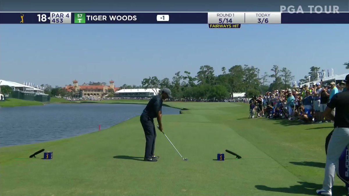 Players Championship 2018: This Tiger Woods stinger with Protracer is pure golf porn