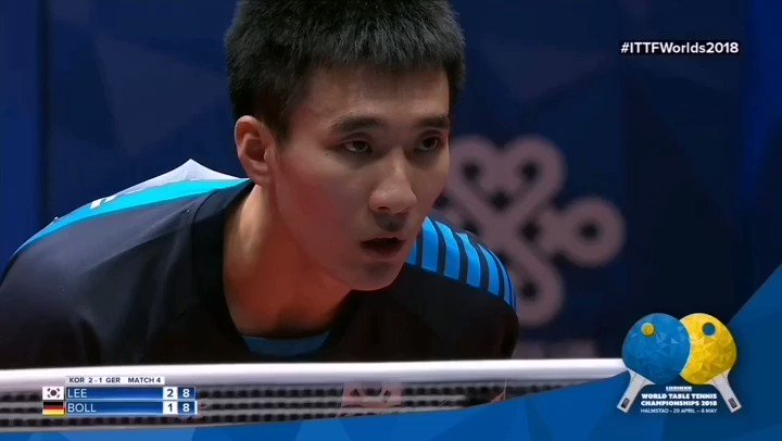 @timoboll on fire🔥🔥#ITTFWorlds2018 📺 tv.ITTF.com