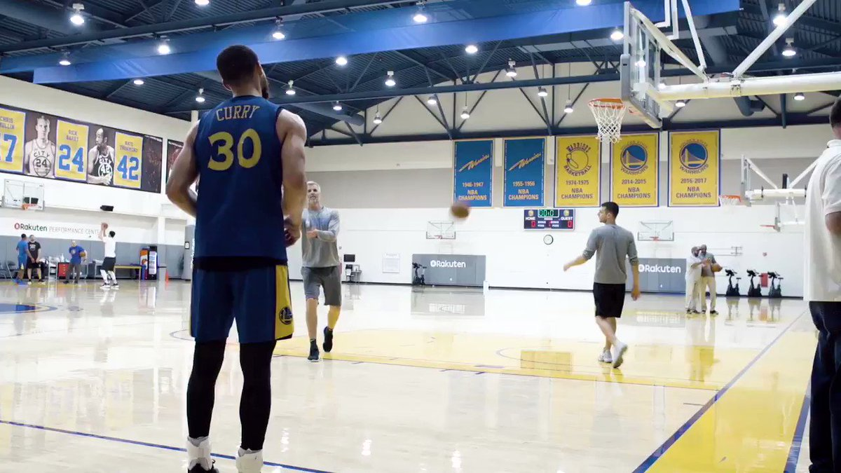 Steph looks ready for the Western Conference Finals �� (via @warriors). https://t.co/QCAEqjMPfO